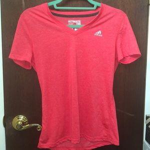 Adidas pink sport shirt